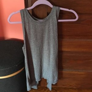 Perfect condition cross open back top